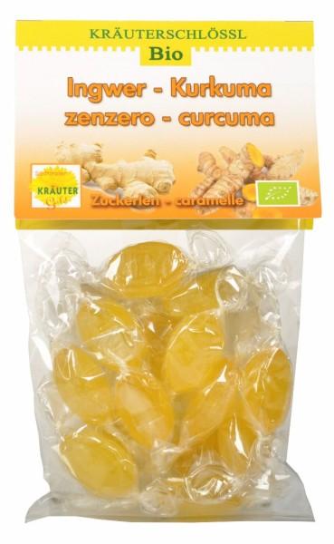 Ingwer - Kurkuma Zuckerlen Bio - Südtiroler Kräutergold
