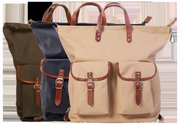 Rucksack / Tasche beige - Pur Manufactur