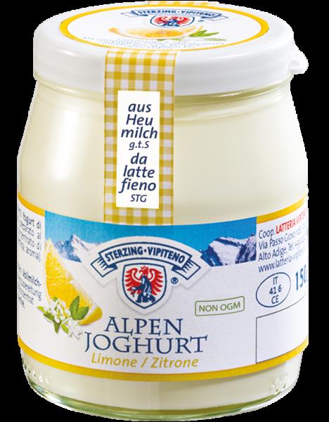 Zitrone Alpenjoghurt - Milchhof Sterzing