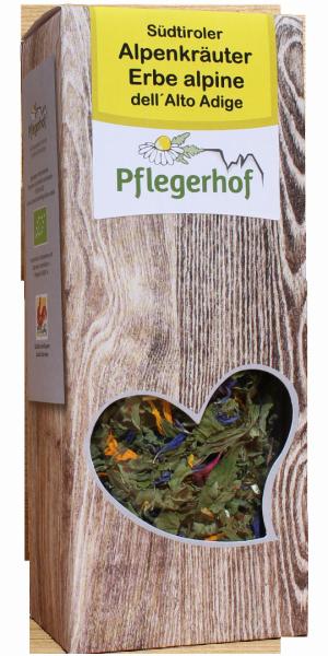 Südtiroler Alpenkräuter Tee Bio - Pflegerhof