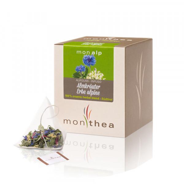 Alpenkräuter Monalp Teebeutel Bio - Monthea