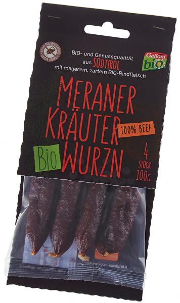 Kräuterwurzen 100% Beef Bio - Galloni Meran/o