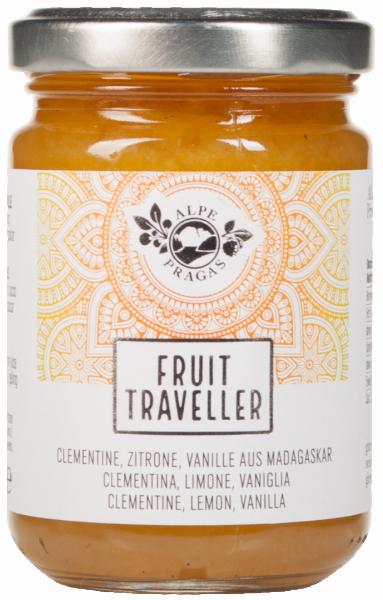 Clementine, Zitrone & Vanille Fruit Traveller Fruchtaufstrich - Alpe Pragas