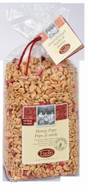 Honigpops mit Erdbeere - Fuchs Privatmühle