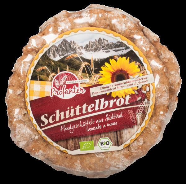Dinkel - Schüttelbrot Bio mit Sonnenblumenkernen - Profanter Natur-Backstube