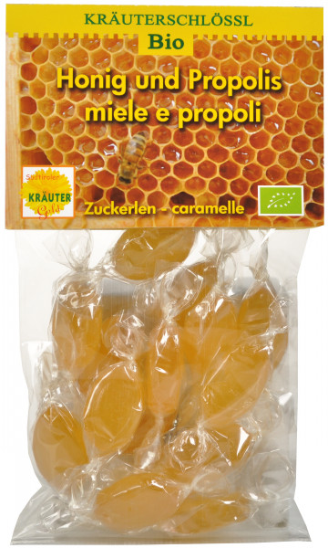Honig Propolis Zuckerlen Bio - Südtiroler Kräutergold