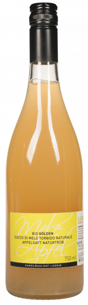 Apfelsaft Golden Delicious Bio - Luggin
