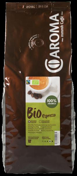 Arabica Bio Bohnen 1kg - Caroma Kaffee
