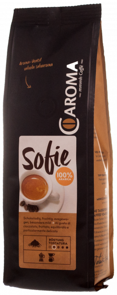 "Arabica ""Sofie"" gemahlen - Caroma Kaffee"