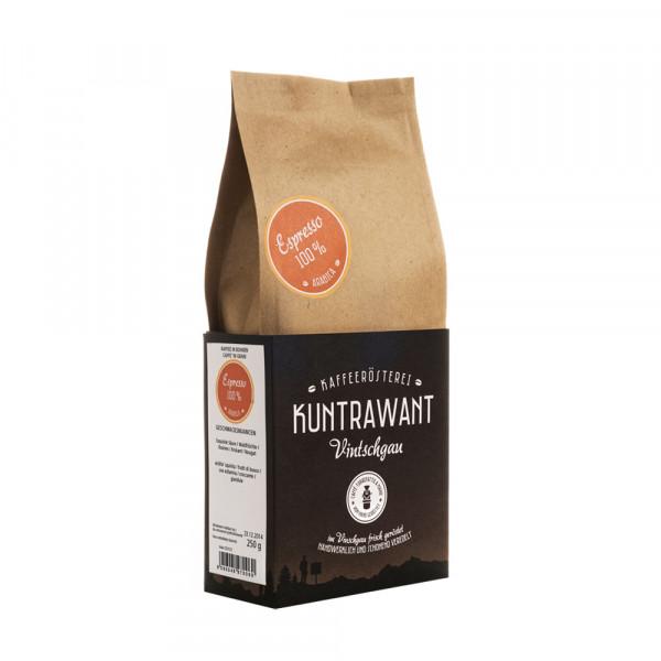 Espresso Arabica Vitea Bohnen Bio - Kuntrawant