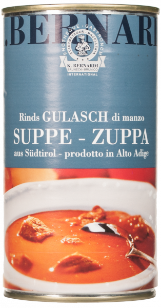 Gulaschsuppe vom Rind - Karl Bernardi