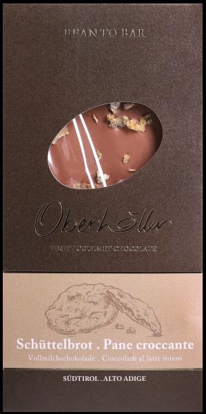 Vollmilchschokolade mit Schüttelbrot - Oberhöller