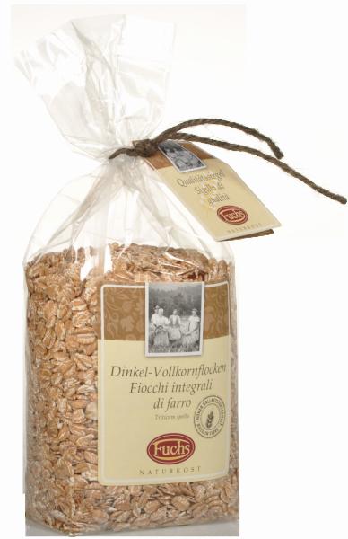 Dinkel-Vollkornflocken - Fuchs Privatmühle