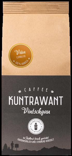 Espresso Arabica Vitea Bohnen - Kuntrawant