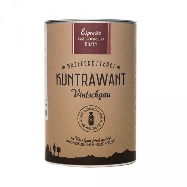 Espresso 85% Arabica 15% Robusta gemahlen Bio - Kuntrawant